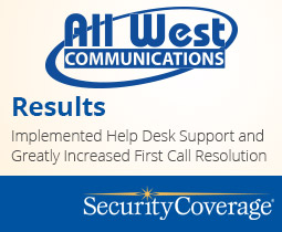 Success Story: All West Significantly Improves First Call Resolution with TotalTech Support