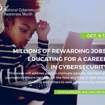 NCSAM - Careers in Cybersecurity