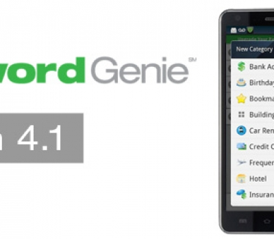 Password Genie Android 4.1 Coming Soon to Your Mobile Device!