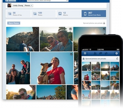 Think Before You Sync… All of Your Smartphone Photos to Facebook